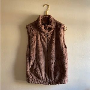 SANCTUARY Fur Vest